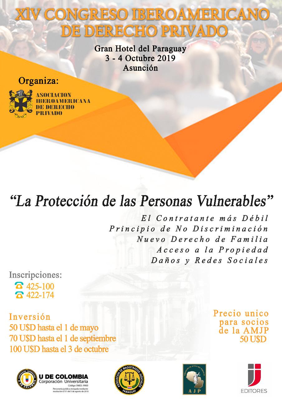 XIV CONGRESO IBEROAMERICANO DE DERECHO PRIVADO