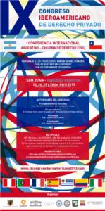 IX Congreso Iberoamericano de Derecho Privado