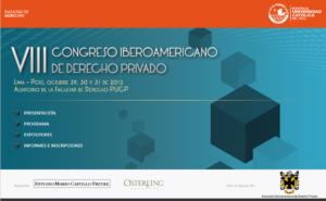 VIII Congreso Iberoamericano de Derecho Privado