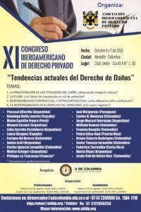 XI Congreso Iberoamericano de Derecho Privado